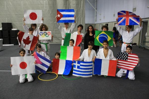 Judo Club Charenton lors du Trophées du Sport