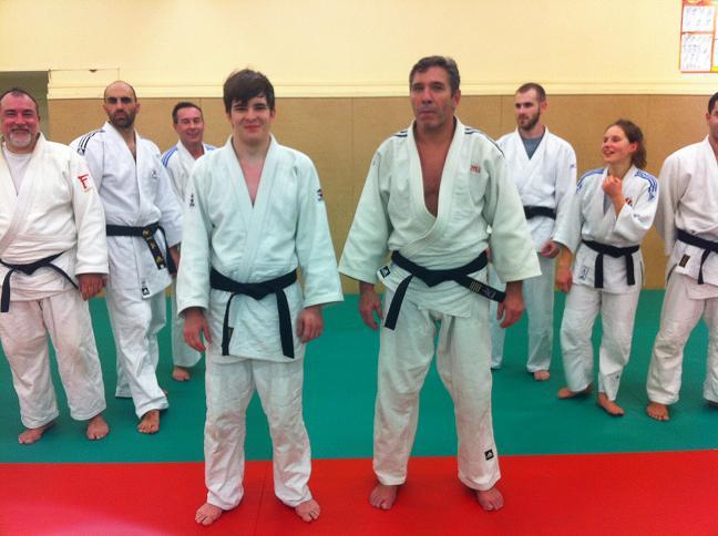 Valentin Rault nouvelle 1ère DAN Décembre 2012 du Judo Club Charenton