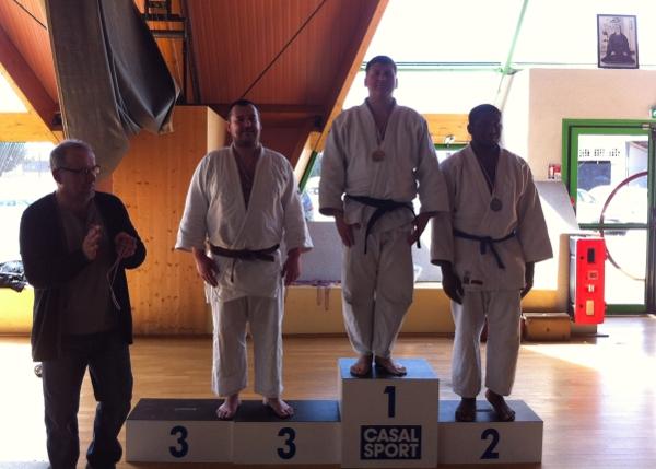 Jean-Marc Pace se classe 1er des +100kg 2ème Div à Thiais du 14 avril 2013