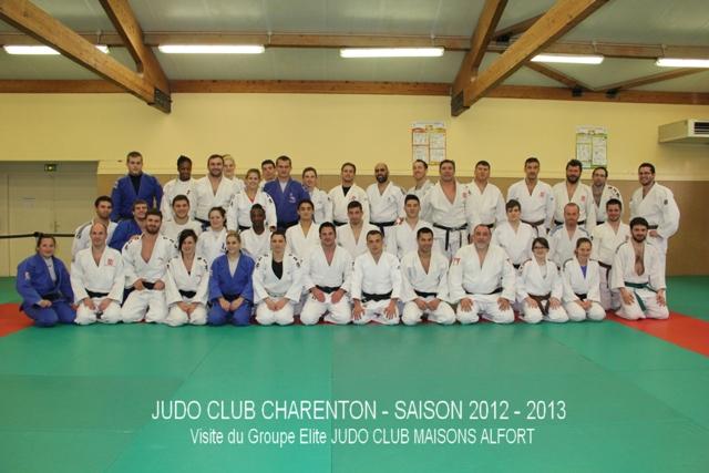 JCMA et JC Charenton pour un entraînement collectif