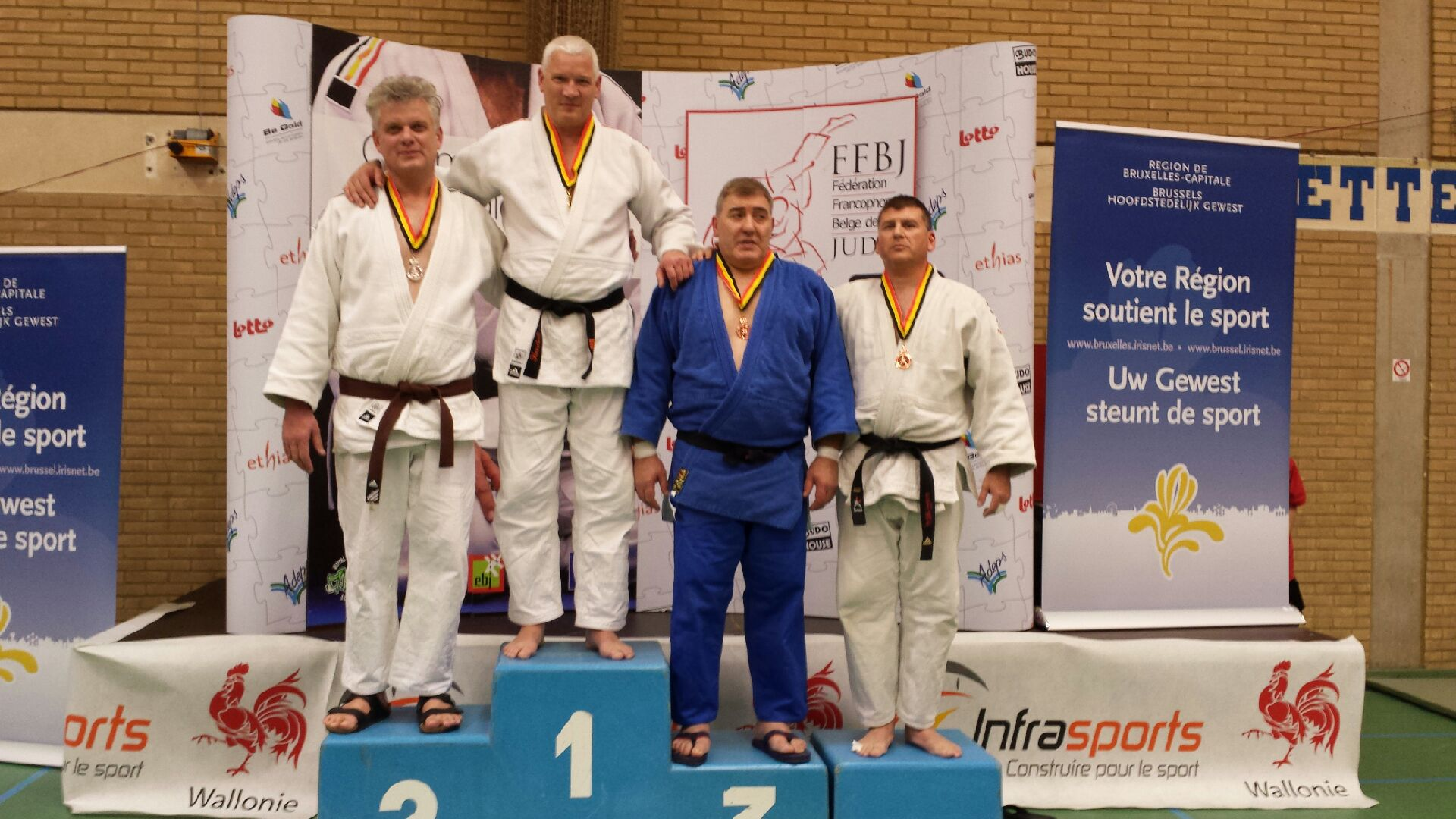 Jean-Marc est arrivé 3ème au Tournois Master de Bruxelles samedi dernier