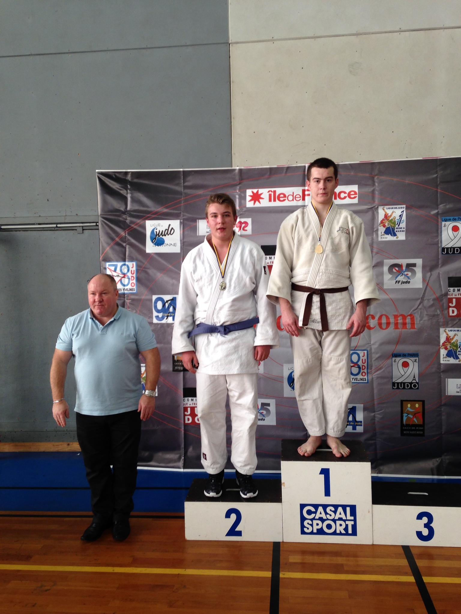 Valentin Nowack +90 kg 2ème (qualifié pour les demi-finales des Championnats de France