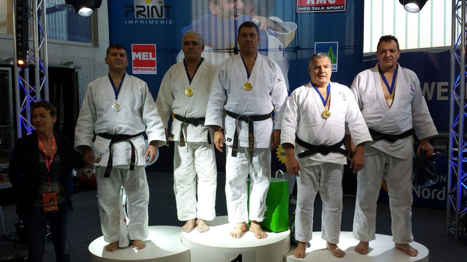 podium Jean-Marc Pace 2ème tournoi de Lille