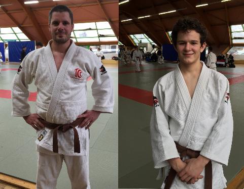 Guillaume Gacoin et Antoine Faure obtiennent leur ceinture noire