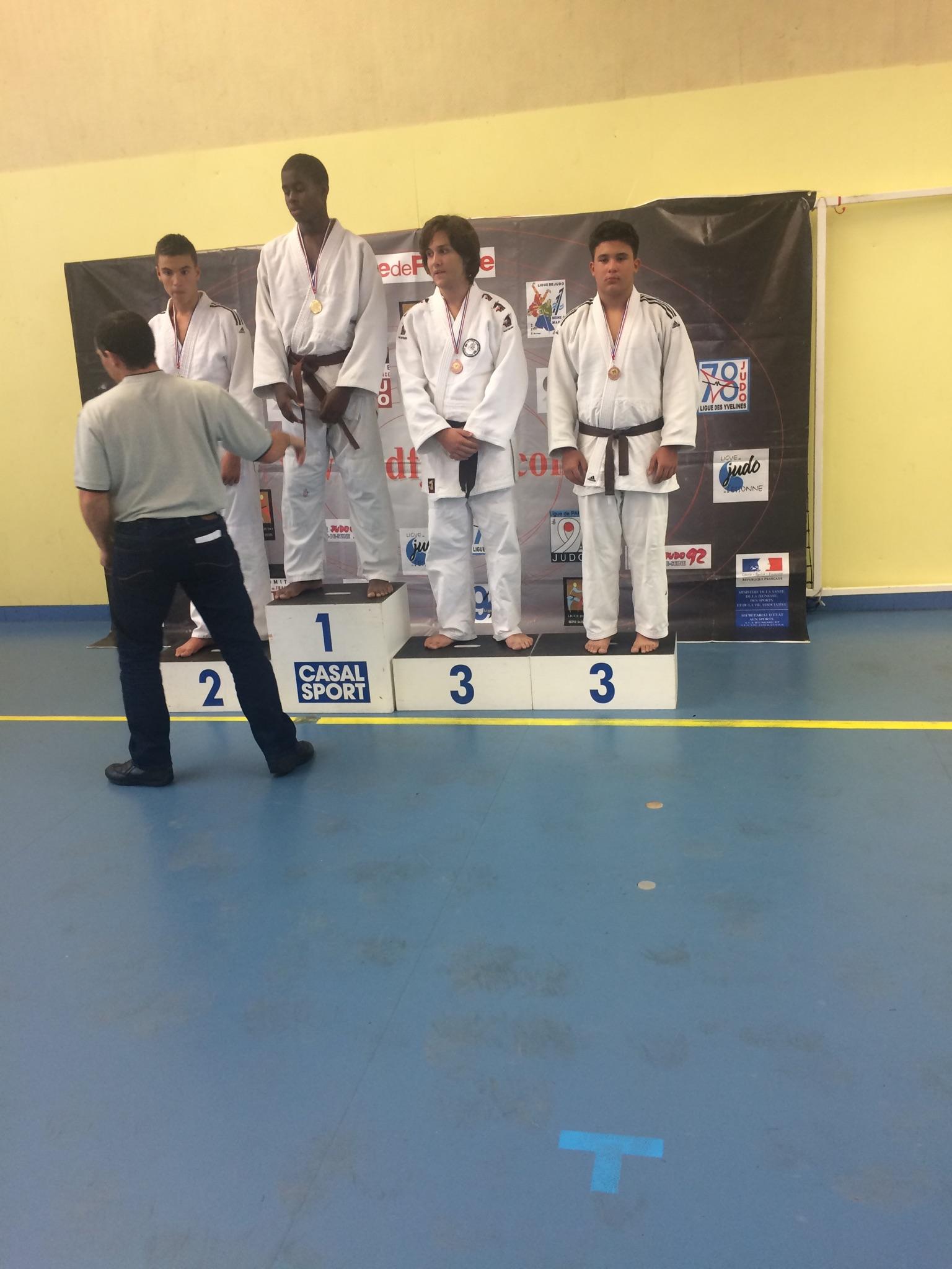 Lassana Sackho médaille d'or !