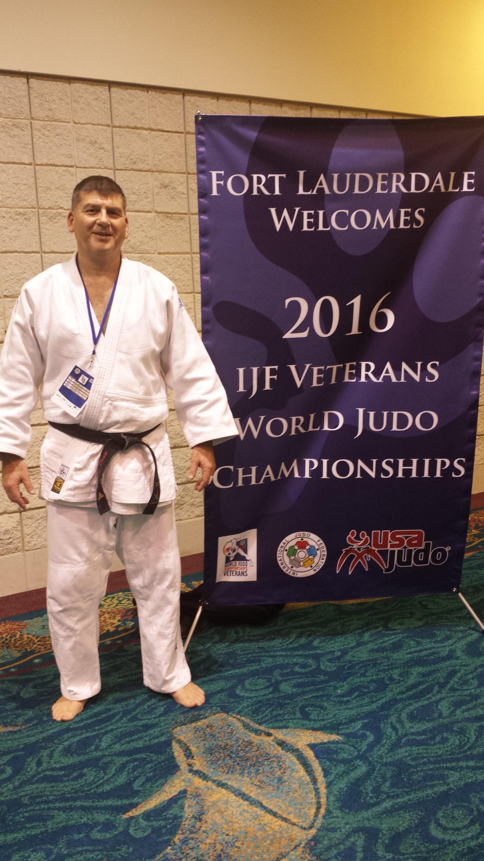 Jean-Marc Pace aux Championnats du monde vétérans à Fort Lauderdale